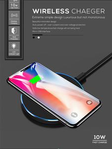 10 W Qi Hızlı Kablosuz şarj Için Huawei P30 Pro Mate 20 Pro Samsung Xiao mi mi x 3 mi 9 iphone XS MAX x 8 kablosuz şarj