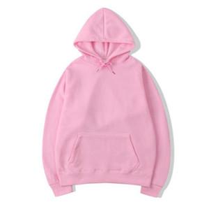 كم التطريز الشارع الشهير هوديس طويلة الأزياء البلوز البلوز البلوز الوردي Moletom ذكر لل