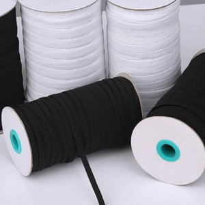 For Maak DIY Braided Elastic Band Cord Knit Band Sewing elastic band ear rope Widely used for masks 3mm -12mm