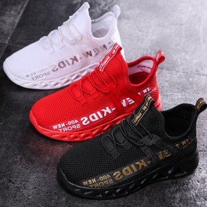 Kid Correndo Sneakers Verão Crianças Sport Shoes Tenis Infantil Menino Basket Footwear Leve respirável menina Chaussure Enfant