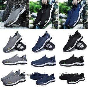wholesale triple black white navy blue breathable designer sneaker men running shoes sneakers mens womens trainers