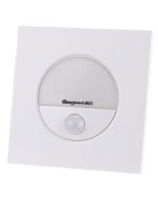Человеческого тела Инфракрасный индукционные лампы Geagood LED Night Light Sensor GD-Q3 Тип 86 Смарт Освещение Stairway коридора Гладильщица