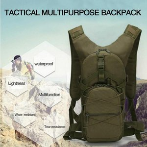 15L 800D High Density Oxford Cloth Backpack prático Montanhismo Campo Sobrevivência Ao Ar Livre