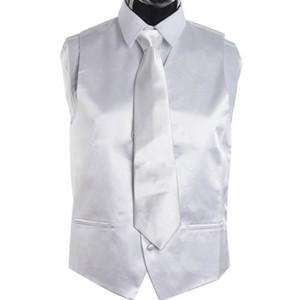White Tie hommes robe veste et cravate Ensemble pour costume ou smoking