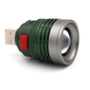 Led Aydınlatma Usb Kafa Mini-Kullanım Işık Lambası Alüminyum Alaşım Işık Fener Aydınlatma Oku Dış Ticaret Isı Satış
