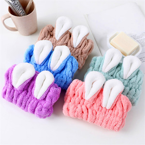 Wholesale Coral Velvet Absorbent Soft Dry Hair Towel Spot Supply Dry Hair Caps Can Be Customized Multi-Color Optional Welcome To Buy