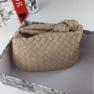 ücretsiz kargo Dokuma koyun derisi sıcak satış Moda marka lüks omuz çantası tasarımcı çanta tasarımcısı çanta Tote Bag knot