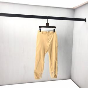 Stereo nuovi uomini di pantaloni Early Autumn comune Nome Ins vento ricamo in bianco e nero Cuciture cerniera chiusa velluto pantaloni casual Kz