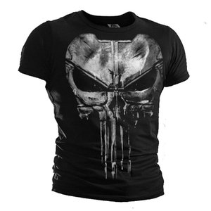 New The Punisher T Shirt Daredevil Punisher Cotton Casual Short Sleeve Tops Tee For Men T-shirts J190427