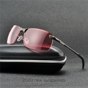 Hot Oversized Rimless Sunglasses Men Big Size 2020 Black Green One Lens Large Windproof Red Shades for Women Punk Sunglasses NX