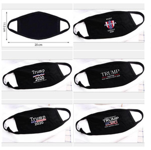 5 Styles Donald Trump 2020 Face Mask Cloth Anti-dust Mask Funny Cotton USA Woman Men Unisex Fashion Winter Warm Washable Mask GD354