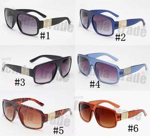 6 Renkler siliver siyah Güneş Gözlüğü Gözlük Çerçevesi Yeni Desinger Kadın Güneş Gözlüğü UV400 Büyük boy Kare Çerçeve Gözlük Yeni ulculos De Sol 10 ADET