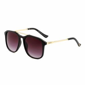 2019 YENI Marka Tasarımcı Güneş Gözlüğü Yüksek Kaliteli Metal Menteşe Güneş Gözlüğü Erkek Gözlük Kadın Güneş gözlükleri 4302 lens ile Unisex kutu 0321
