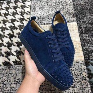 Bassa top Junior scarpe da ginnastica inferiori rossi per mens moda mens di lusso delle donne scarpe casuali del progettista rantulow scarpe orlato blu nero all'ingrosso