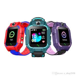Ranhura Q19 relógio inteligente wateproof Crianças relógio inteligente LBS Rastreador SIM Card Smartwatches com câmera SOS para Android iPhone Smartphones in Box