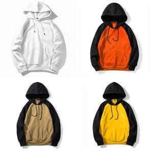 Forma Trendy stampata cuore con cappuccio da uomo con cappuccio Primavera Autunno felpe oversize casual cotone Hoody Coat Plus Size pullover # 511