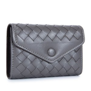 Charm2019 Organ Envelope Weave Men And Women Lovers Fund High Archives Three Fracture Certificates Package Card Set Genuine Leather