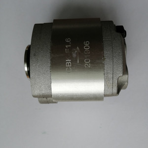 manufacture CBK F 1.6cc hydraulic gear pump hot wholesale high quality for power unit pack small hydraulic system free shipping