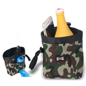 Dog Treat Bag Multifunctional Puppy Training Waist Pouch Snack Garbage Container Carrier For Outdoor Camping Climbing