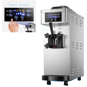 Factory direct commercial 1100W automatic desktop ice cream machine high quality stainless steel soft ice cream machine