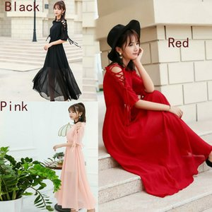 Chiffon maxi skirt Evening dress
