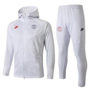 en kaliteli 19 20 Paris futbol erkek 2019 psg eşofman Cavani forma ceket Mbappe toz kat sportwear eşofmanını kapüşon