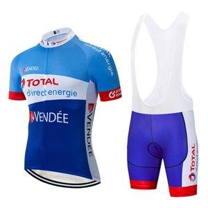 2020 TOTAL BLUR énergie jersey vélo 20D PAD cuissard Set Men Ropa Ciclismo Maillot de bottoms top vélo Culotte