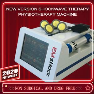 2 em 1 EMS eletrônico estimulador muscular Shock Wave Fisioterapia celulite redução Equipamento Shock Wave