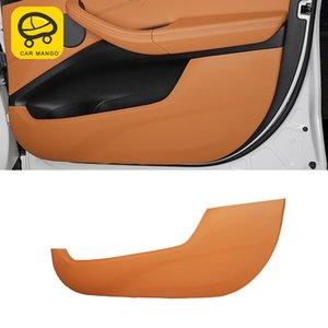 CarManGo для X3 2018 года G01 Car Care Door Gate Protector Кожаный чехол Авто Anti-удар Anti-грязного Pad Обрезка интерьера Аксессуары