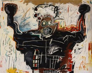 Jean Michel Basquiat Graffiti Art # 104 Home Decor Artisanats / HD huile d'impression Peinture Sur Toile Art mur toile Photos 200303