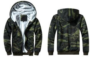 새로운 위장 망 디자인 자 켓 패션 양 털 까마귀 코트 격자 무늬 뜨거운 스타일 자 켓 스트리트 망 재킷