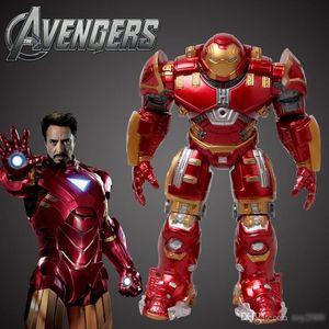Marvel The Avengers 2 Age Of Ultron Iron Man Hulk Buster 14 / 17cm Light Action Figure Model Toy Hulkbuster giocattoli per bambini
