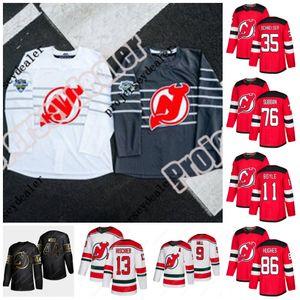 86 Jack Hughes New Jersey Devils 2020 Nikita Gusev P.K. Subban Wayne Simmonds John Hayden Hischier Sala Schneider Palmieri Greene