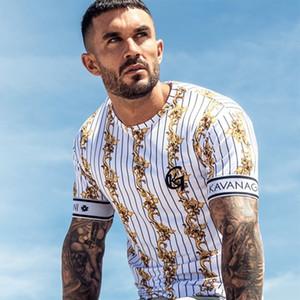 Sommer SikSilk Male T-Shirt Seide Seide T-Shirt O-Ansatz Kurzschluss Lustige Männer Shirts T Shirts Sik Silk Männer Tops Tees T200525