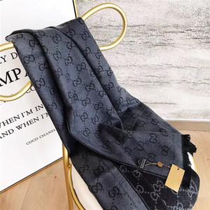 Sonbahar Ve Kış Marka Yün Örgü Fular Çift Taraflı Tasarımcı Erkek Ve Kadın Eşarplar Moda Vahşi Isınma Eşarp 180-35cm echarpe de luxe