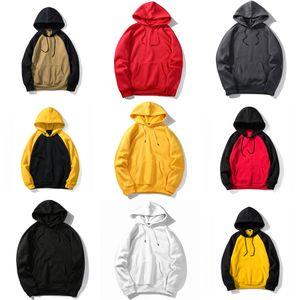 Two 1Pcs Trend Sport Man Set Sweatsuit Hoodie Sweatshirt +Pants Men Hoodies+Sweatpants Sporting Suit Mens Casual Fleece Hooded Pullover#842