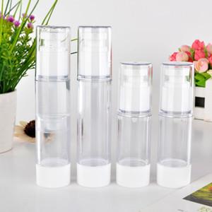 30 мл / 50 мл Пластиковые бутылки спрей прозрачный безвоздушного насос Духи Вакуум-спрей пластиковые бутылки бутылка перемещения Перезаправляемые Косметика Бутылки