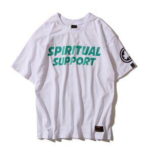 Mens Designer T Shirt Summer New Casual Mens Loose Tees Maple Leaf & Letters Print Fashion Hip Hop Short Sleeves Mens T Shirt Size M-2XL