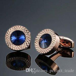 Toptan Kristal Kol Düğmeleri Studs Vintage Desen kol düğmesi Bay Fransız Moda Manşet Düğmeler Takı Hediye Alaşım Ücretsiz Kargo