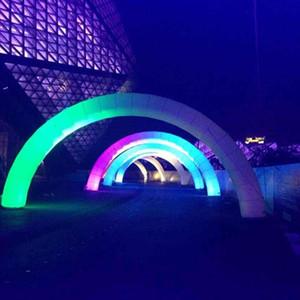 Club party ingresso decorativi eventi illuminazione arco Notte gonfiabili in scena deco gonfiabile ingresso arcobaleno arco