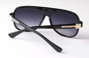 Top Glass Lens qualità Pilot Vintage Occhiali da sole donne degli uomini UV400 di disegno di marca 58MM 62MM unisex specchio di vetro di Sun Meglio Caso Sticker