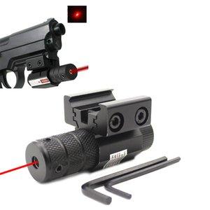 Compact Tactical Mini Ponto Red Laser Sight Scope Picatinny fit Rail Mount 11mm 20mm Equipamentos de Engrenagem