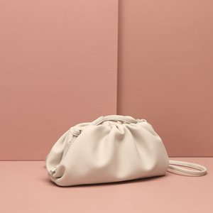 2020 New Style Online Celebrity Pleated Single-shoulder Crossbody Bag Dumplings Clutch Bag