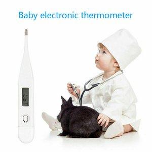 Comerc electrónica digital herramienta de medición de la boca Joven Bebé infantil del cuidado del bebé adulto LCD de la temperatura corporal del bebé Cuidado de la Salud Termómetro NUEVO