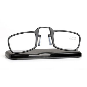 Reading glasses Clip Nose Folding Reading Glasses for Women Foldable Optical men Flexible Adjustable Portable