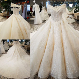 Princess Wedding Dresses Luxury Real Sample Store Frocks 2020 Balls Summer Shopping Mexican Wedding Dress Ball Gowns