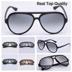 4125 النظارات الشمسية الرجعية الشمس الكلاسيكية نظارات 5000 عدسات نموذج خلات إطار G15 حزم الأصلي الشحن المجاني