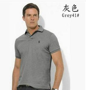 2020 Новый бренд Polos Мужчины Cro вышивки ПОЛО рубашки хлопка с коротким рукавом 17 Camisas Polo Повседневный Стенд Воротник Мужчины поло Summer Hot