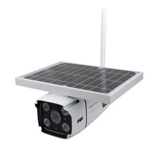4G tarjeta SIM inalámbrico solar IP de la cámara HD 1080P seguridad de la bala cámara de infrarrojos de visión nocturna de energía solar de la vigilancia del CCTV Cam