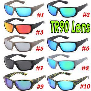 2019 Marke Luxus-Designer-Sonnenbrillen polarisierten Sonnenbrillen für Männer Frauen Surfen Sonnenbrillen Fischerei Sonnenbrillen Dazzle Farbe Objektiv